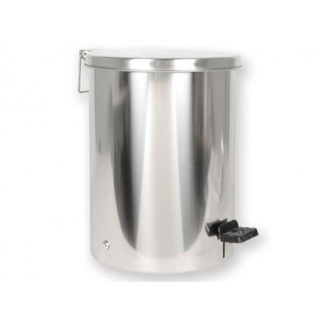 CESTINO RIFIUTI INOX 9,5 l - acciaio INOX