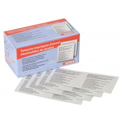 ALCOMED ALCOHOL PADS - scatola da 100 pads