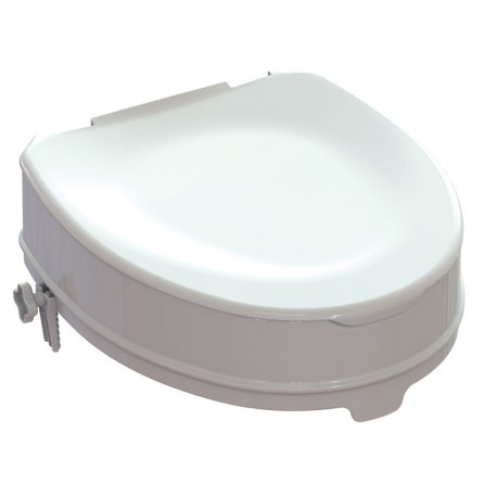 RIALZO WC con sistema di fissaggio - 10 cm